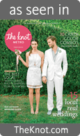 "The Knot Magazine Cover - ""As Seen in 'The Knot.com' """