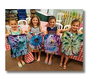 Tie Dye Designs Workshop