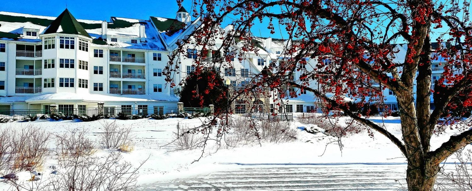 Osthoff Resort During the Winter