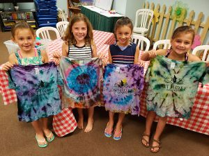 Children with Tie Dye Shirts at Osthoff Resort