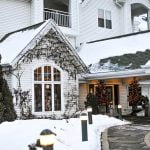 Osthoff Resort During the Holidays